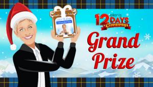 Ellen Tube – 12 Days of Giveaways Grand Prize