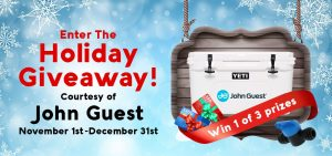 Fresh Water Systems – Win a grand prize of a Yeti Tundra 45 Cooler OR 1 of 2 minor prizes