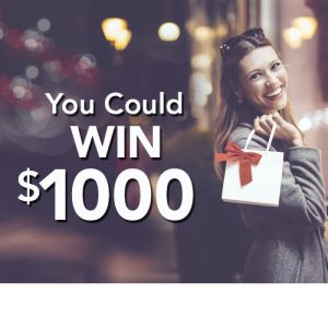 Redstone Federal Credit Union – Win 1 of 93 Visa prepaid cards valued at $1,000 each