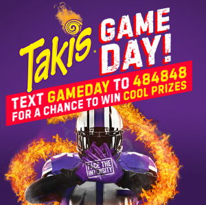 Takis – Win a grand prize of a Flat Screen TV OR 1 of 11 minor prizes