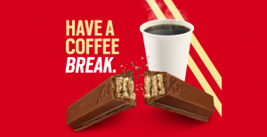 The Hershey – Kit Kat – Win 1 of 63 prizes of a year of Kit Kat bars each