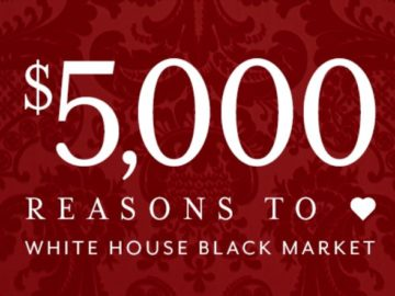 White House Black Market – Win $5,000 in gift cards