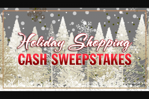 ABC – The View's Holiday Shopping Cash – Win the following A check in the amount of $5000 within six weeks of receiving completed paperwork from winner