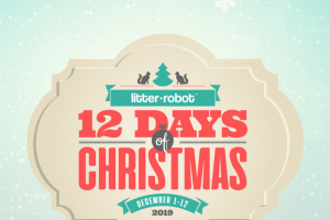 Automated Pet Care – Litter-Robot's 12 Days Of Christmas 2019 Sweepstakes