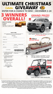 Bass Pro Shops And Cabela's – 2019 Ultimate Christmas Giveaway Sweepstakes