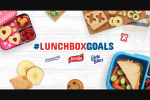 Bimbo Bakeries – Mom's Return To School #lunchboxgoals – Win $2500 awarded as follows $1000 in the form of a check and one $1500 VISA gift card