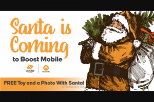 Boost Mobile – Moto G7 Play Holiday Phone Giveaway – Win one Motorola Moto g7 PLAY handset