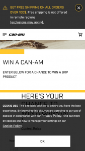 Brp – Win A Brp Product Sweepstakes