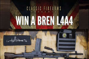 Classic Firearms – Win A Bren L4a4 Rifle Package – Win a BREN L4A4 Rifle approximate retail value $8000.