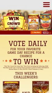 Conagra – Win The Crowd On Basketball Game Day Sweepstakes