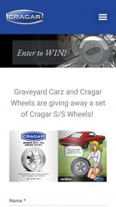 Cragar And Graveyard Cars – S/s Wheel Giveaway – Win one set of Cragar S/S SERIES 08/61 S/S SUPER SPORT Wheels