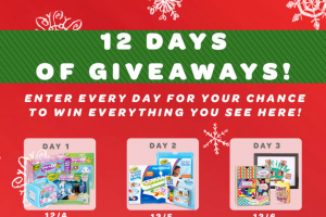 Crayola – 12 Days Of Giveaways – Win of everything on the above list total value of grand prize $1086.07