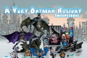 """DC Entertainment – A Very Batman Holiday Sweeps 2019 – Win the following (the """"Grand Prize"""")    One (1) Lego DC SUPER HEROES 1989 Batmobile"""