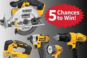 Do It Best – $2600 Dewalt Giveaway – Win for any reason or c) has violated therulesof the giveaway