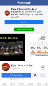 Eight O'clock Coffee – 160th Anniversary Sweepstakes