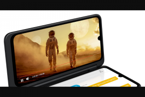 EXTRATV – Lg G8x Thinq With Lg Dual Screen – Win is an LG G8X ThinQ with LG Dual Screen