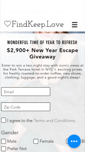 Findkeeplove – New Year Escape Giveaway – Win Package from Samsara Luggage Cash/Retail Value $690