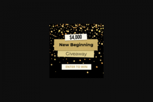 Frankly Media – $4000 New Beginning Giveaway – Win consisting of a cash award in the amount of four thousand US Dollars (US$4000)