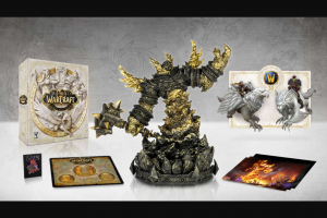 Gamespot – World Of Warcraft Giveaway Sweepstakes