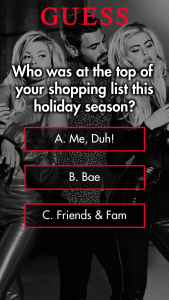 Guess – Holiday Sweepstakes