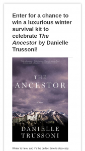 Harpercollins – The Ancestor Winter Sweepstakes