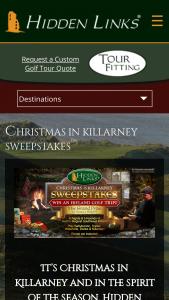 Hidden Links – Christmas In Killarney – Win a golf vacation to Ireland