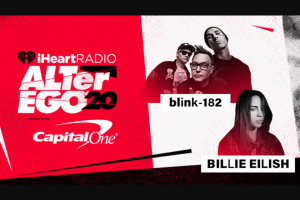 Iheartmedia – Meet Blink And Billie At Our Alter Ego '20 Sweepstakes