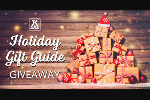 Koa – Holiday Gift Guide Giveaway – Win package value at approximately $800.