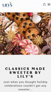 Lily's Sweets – Classics Made Sweeter – Win One Branded Treat Cookie Tin arv