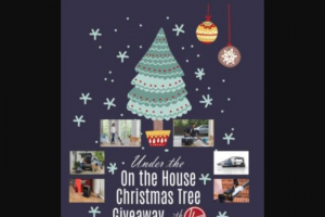 On The House – Under The On The House Christmas Tree Giveaway With Hoover Sweepstakes