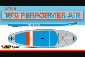 Paddling – Bic – Win the 10'6 Performer AIR Inflatable SUP