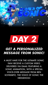 Paramount – 12 Days Of Sonic Sweepstakes