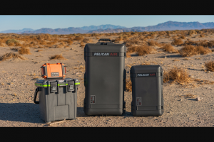 Pelican Products – Ultimate Overlanding Holiday Gift Grab Sweepstakes