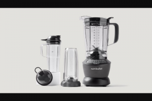 Rachael Ray – Nutribullet Blender Combo – Win a gift card coupon certificate or voucher