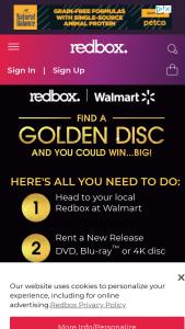 Redbox – Golden Disc Sweepstakes
