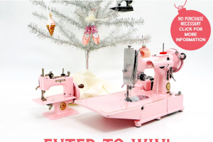 Singer – Featherweight 222k Sewing Machine Sweepstakes