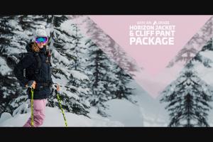 Skiscom – Orage Horizon Women's Ski Jacket & Cliff Pants Sweepstakes