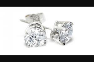 Superjeweler – $5000 Diamond Studs Sweepstakes