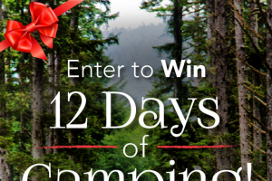 Thousand Trails – 12 Days Of Camping – Win a Thousand Trails limited edition 50th anniversary camping pack (a $50 value).