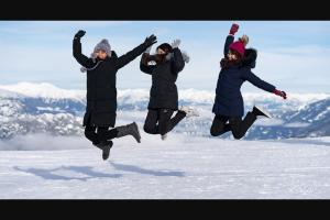 Tourism Whistler – #onlyinwhistler Winter Contest – Win $1000 CAD gift certificate valid for Whistlercom