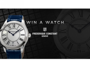Worldtempus – Frederique Constant Ladies Classic Quartz Watch Sweepstakes
