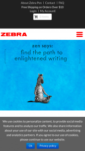 Zebra Pen – Zen's 25 Days Of Giving – Win a variety of Zebra Pen branded products with a maximum Approximate Retail Value of $663.22.