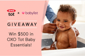 Babylist – Win 1 of 3 gift cards to use toward OXO Tot's baby products