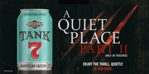 Boulevard Brewing Co – A Quiet Place II – Win a trip for 2 to Hollywood, California
