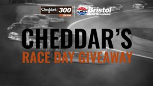 Bristol – Cheddar's Scratch Kitchen Race Day – Win 1 of 5 grand prizes OR 1 of 145 minor prizes