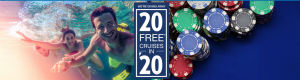 Carnival Cruise Line – Win 1 of 4 grand prizes of an 8-day cruise for 2 each OR of 1 of 118 Instant win prizes of a $100 Mastercard gift code each