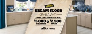 DIY Network – Win $5,000 in flooring products PLUS a $2,500 check