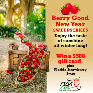 Farm Star Living – Win a $500 gift card PLUS Florida Strawberry goodies