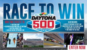 Gannett – Win a 2020 Daytona 500 prize pacakge including a trip for 2 to Orlando and more