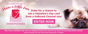 Hallmark Channel – Win 1 of 1,000 Hallmark Valentine's Day greeting cards